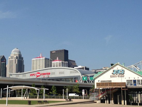 Louisville Waterfront Park View Of From
