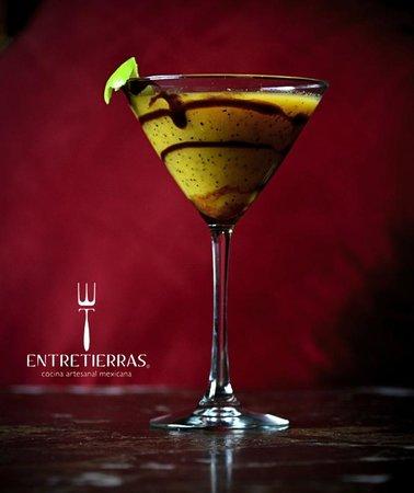 Entre Tierras: Martini de maracuyá