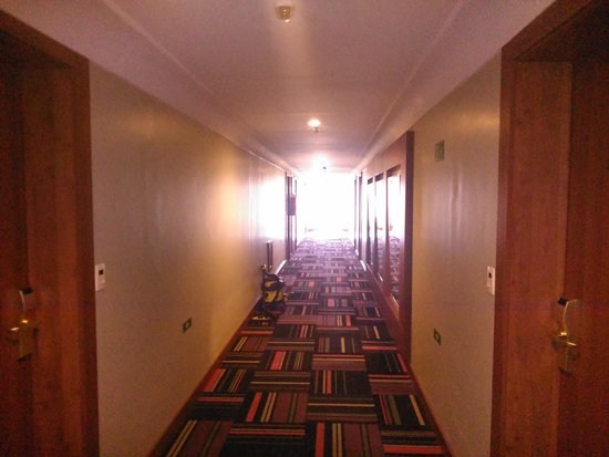 Windsor Plaza Brasília Hotel: Corredor do sexto andar do hotel