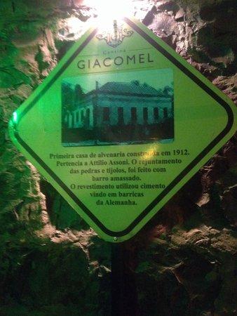 Cantina Giacomel : Restaurante e história!