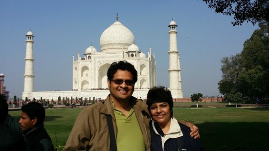 Travel N Tours India : Our wonderful trip to the Taj