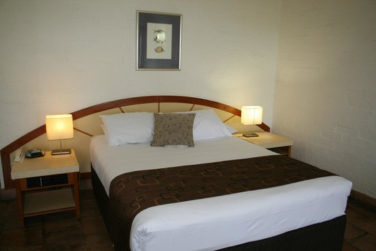 Rottnest Lodge: Queen size bed