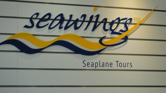 Seawings Seaplane Tours: above the main desk in the office