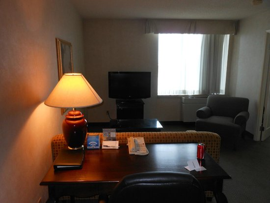 Radisson Suite Hotel Toronto Airport: living area with sofabed