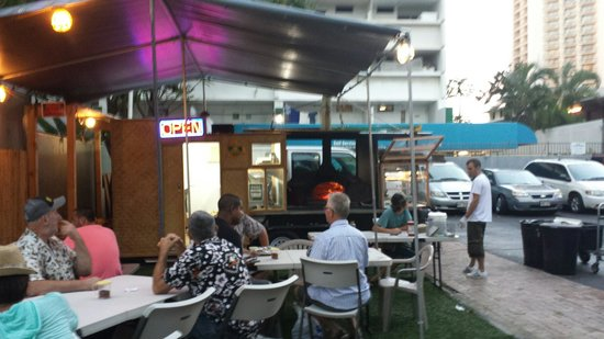 Pizza d' Agostino: Food truck style pizza