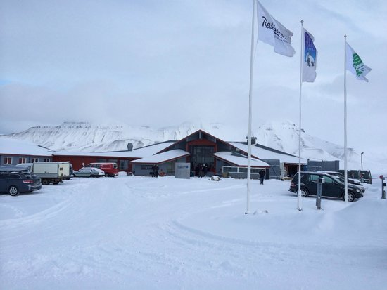 Radisson Blu Polar Hotel, Spitsbergen, Longyearbyen: Radisson Blu Polar Hotel.