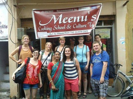 Queen Cafe Meenu's Cooking Class
