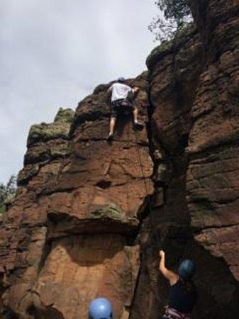 Kokopelli Climbing: real nice climbing