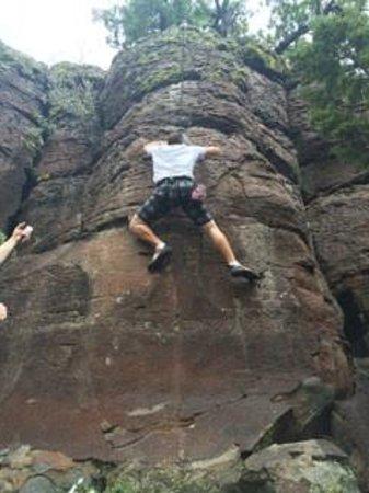 Kokopelli Climbing: Very challenging