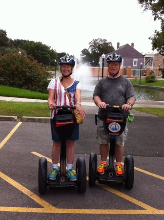 City Segway Tours New Orleans: Had a ball!
