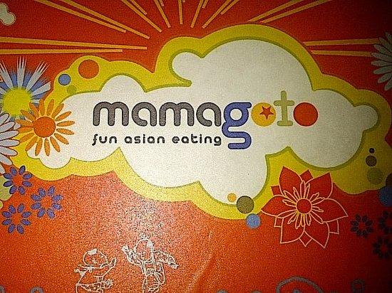 Mamagoto: menu