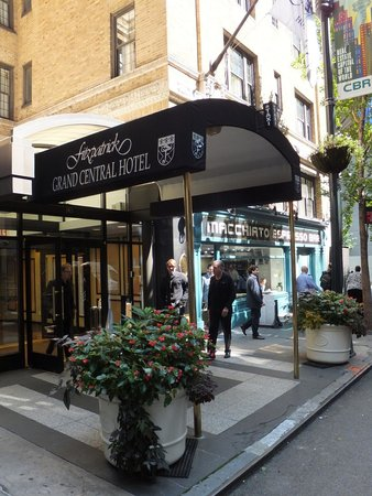 Frontage - Picture of Fitzpatrick Grand Central Hotel, New York City - TripAdvisor