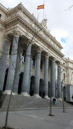 Paseo del Prado: Bolsa de Madrid