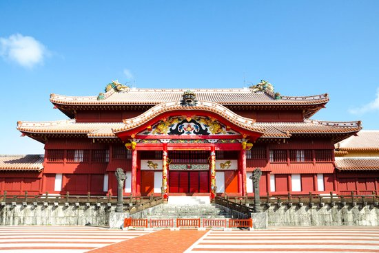 Okinawa Prefecture, Japan: Shurijo Castle