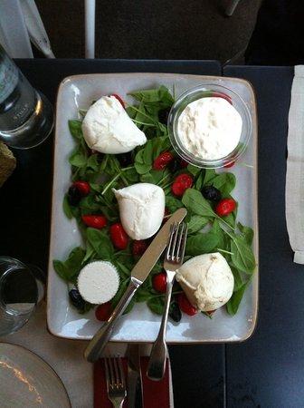 Obica Mozzarella Bar - Brera: Дегустационный сет