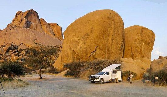 Spitzkoppe Campsites: campsite 9A