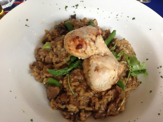 Le Cafe Parisien: Breast chicken with mushrooms
