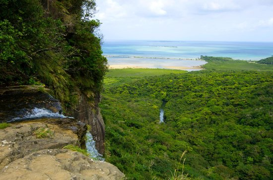 Okinawa Prefecture, Japan: from the view of Pinaisara Falls