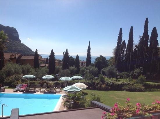 Hotel Villa Madrina: view from first floor Villa Madrina