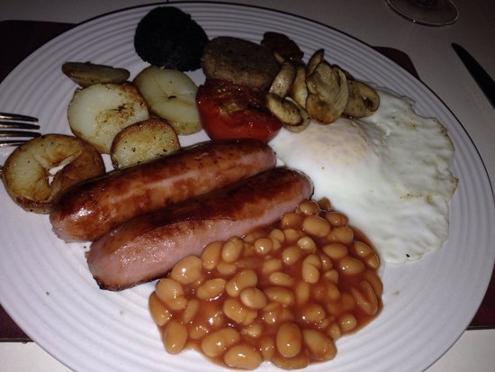 Moate House: Breakfast