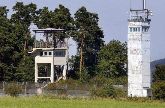 Geisa, Jerman: Beobachtungstürme an der ehemaligen innerdeutschen Grenze