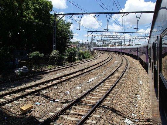 Premier Classe Train : leaving Cape Town