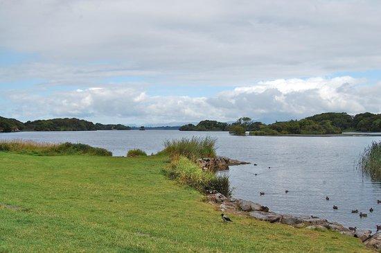 Ross Castle: le lac au bord du château