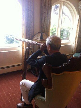 Martine Inn: Per osservare, in stagione, le balene da una camera dell'albergo