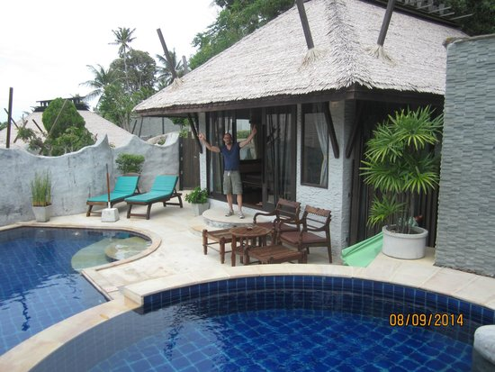 Panviman Resort - Koh Pha Ngan: piscine privative