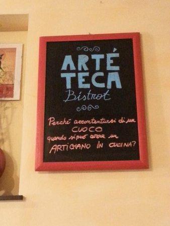 Artéteca Bistrot: Sala Interna.
