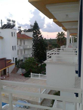 Side, Anthos Garden Hotel, Aparttan Bir Görünüm