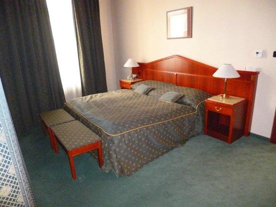 Hotel Carlton : cama