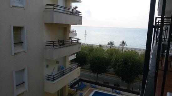 Haromar Hotel : Вид с моего балкона