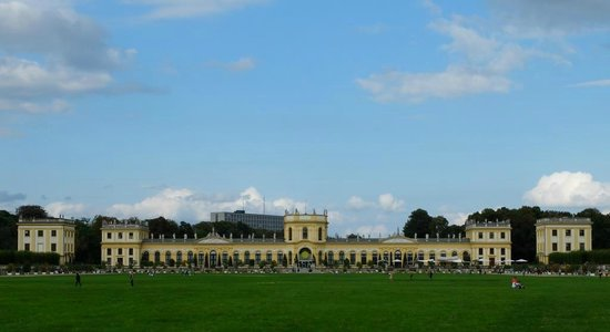 Orangerie Kassel: Die Orangerie und die Karlswiese in Kassel