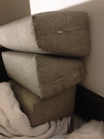 Mercure Rouen Val De Reuil: Stained Cushions