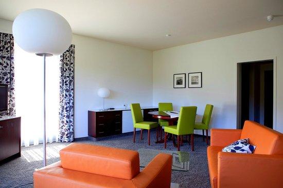 Hotel an der Therme Bad Orb: Wohnbereich Suite