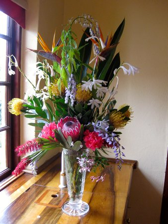 Malvern Manor Country Guest House: Flowers from the garden