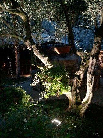 Relais Ducale Hotel: Un angolo del giardino al piano terra