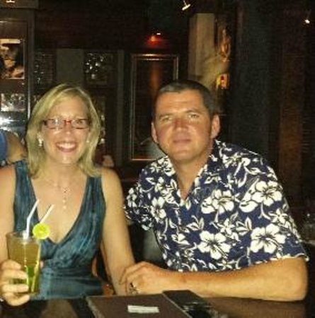 Siam Supper Club: Mojito Time at the bar!