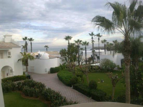 L'Amphitrite Palace: View from my room in hotel, January 2014
