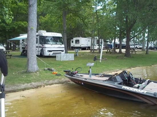 Taw Caw Campground & Marina : One of our sites