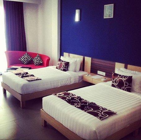 Moon Julie Hotel: Superior Twin Room