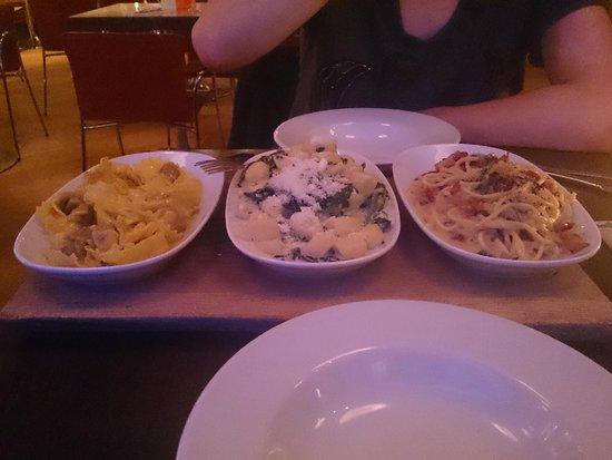 Carluccio's - Liverpool: tasting trio for two