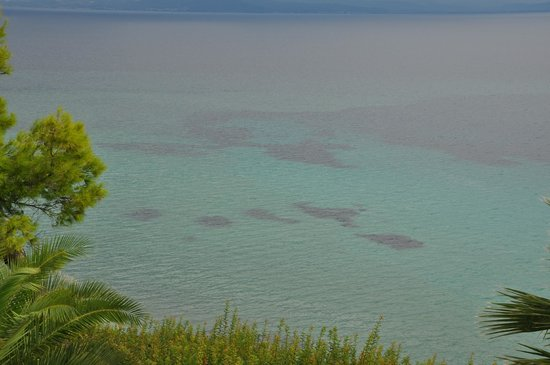 Aristoteles Beach Hotel: The view, that's what the hote has. Only.