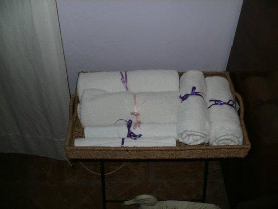 Casa del Sole B&B: Handdoeken
