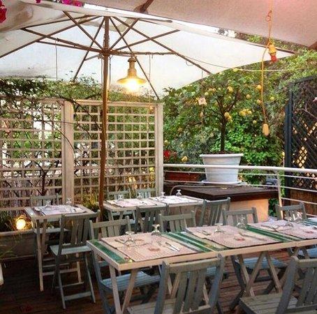 Terrazza del ristorante - Foto di GAUDI, Roma - TripAdvisor