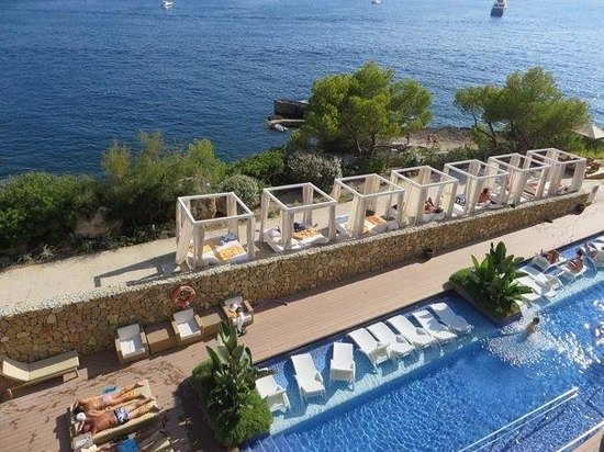 Balcony view picture of iberostar suites hotel jardin for Jardin del sol santa ponsa