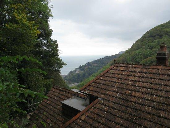 Woodlands Guesthouse: Vista dal sentiero pedonale