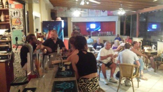 Spyros Studios: In the bar