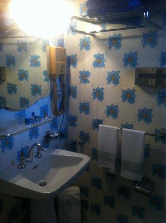 Hotel Villa Riis: Bagno molto vecchio